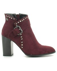 Byblos Blu | 6670p3 Ankle Boots Women Women's Mid Boots In Red | Lyst
