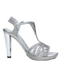Brigitte Bardot - Metallic 46546 Sandals Women's Sandals In Silver - Lyst