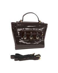 Loeds - Black Bolso Charol Elegante Women's Shoulder Bag In Multicolour - Lyst