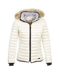 Napapijri - Argos Women's Jacket In White - Lyst