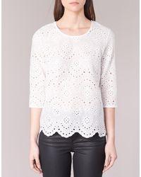 Betty London | Griz Women's Blouse In White | Lyst