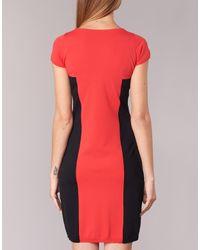 Benetton - Dofaro Women's Dress In Red - Lyst