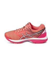 Asics - Gel Cumulus 18 Women's Running Trainers In Orange - Lyst