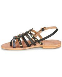 Les Tropéziennes Par M Belarbi - Herclou Women's Sandals In Black - Lyst