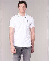 Jack & Jones - Stone Core Men's Polo Shirt In White for Men - Lyst