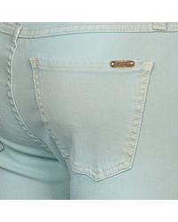 Acquaverde - Scarlett Women's Skinny Jeans In Blue - Lyst