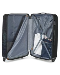 David Jones - Orvillette 116l Men's Hard Suitcase In Black for Men - Lyst