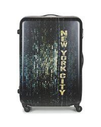 David Jones | Orvillette 116l Men's Hard Suitcase In Black for Men | Lyst