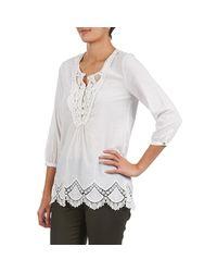 Best Mountain - Biw Women's Blouse In White - Lyst