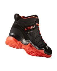 Adidas Originals - Terrex Ax2r Mid Cp Climaproof Women's Walking Boots In Black - Lyst