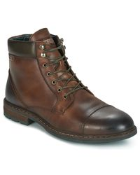Pikolinos - Caceres M9e Men's Mid Boots In Brown for Men - Lyst