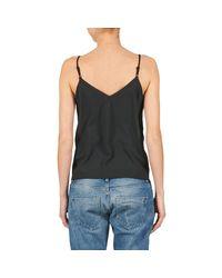 Betty London - Evelyn Women's Vest Top In Black - Lyst