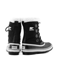 Sorel | Winter Carnival Women's Snow Boots In Black | Lyst
