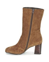 Tamaris - Zalina Women's Low Ankle Boots In Brown - Lyst