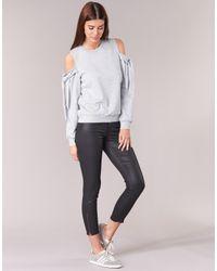 Moony Mood - Gray Harmu Women's Sweatshirt In Grey - Lyst