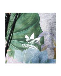 Adidas - Train Fl Jacket Women's Sweatshirt In Blue - Lyst