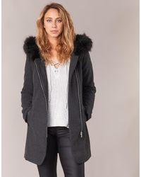 Vero Moda - Gray Macy Women's Coat In Grey - Lyst