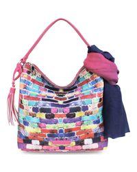 L'ATELIER DU SAC - 5104 Bag Average Accessories Violet Women's Messenger Bag In Purple - Lyst