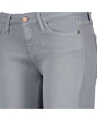 Acquaverde - Gray Alice Women's Jeans In Grey - Lyst
