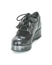 Mam'Zelle - Metallic Reso Women's Casual Shoes In Silver - Lyst