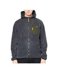 Dickies - Gray Edgewood Fleece Hoodie Dark Grey Men's Sweater In Grey for Men - Lyst