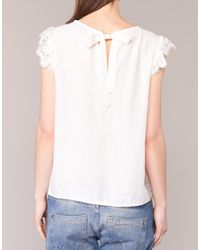 Betty London - Gilca Women's Blouse In White - Lyst