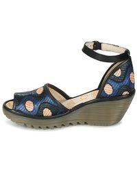 Fly London | Yeji Women's Court Shoes In Black | Lyst