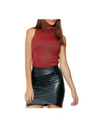 Infinie Passion - Sleeveless Top 00w060165 Women's Vest Top In Red - Lyst