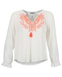 Betty London | Ermila Women's Blouse In White | Lyst