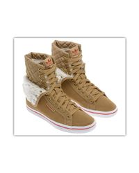 Adidas Originals - Honey Hi Collegiate Women's Shoes (high-top Trainers) In White - Lyst