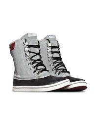 Adidas Originals - Gray Vulc Star Winter Women's Snow Boots In Grey - Lyst