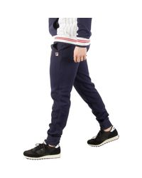 Fila Vintage - Men's Sarento Rib Detail Track Joggers , Blue Men's Sportswear In Blue for Men - Lyst