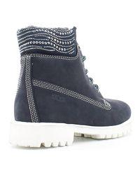 Keys | 8089 Ankle Boots Women Blue Women's Mid Boots In Blue | Lyst
