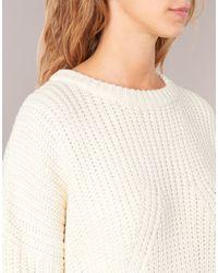 Betty London - Heppine Women's Sweater In White - Lyst