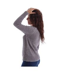 Superdry - Gray G61002kn Jumper Women Women's Polo Shirt In Grey - Lyst