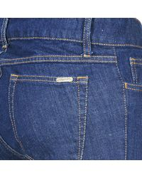 Acquaverde - Adriana Women's Bootcut Jeans In Blue - Lyst