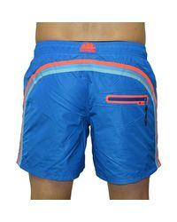 ELASTIC WAIST COSTUME BLU hommes Maillots de bain en bleu Sundek pour homme en coloris Blue