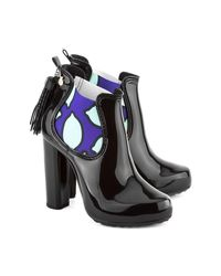 Lemon Jelly - Black Carrie 01 Women's Wellington Boots In Multicolour - Lyst