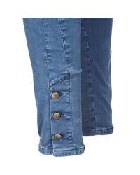 Acquaverde | Alfie Women's Skinny Jeans In Blue | Lyst