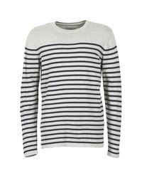 Jack & Jones - Gray Andy Core Men's Sweater In Grey for Men - Lyst