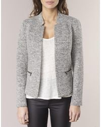 ONLY - Gray Story Women's Jacket In Grey - Lyst