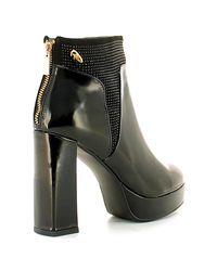 Byblos Blu - 6670f6 Ankle Boots Women Women's Mid Boots In Black - Lyst