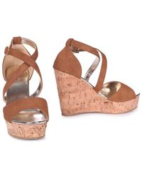 Linzi - Demi Women's Sandals In Brown - Lyst
