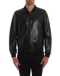 Prada Black Nappa Reversible Bomber for men