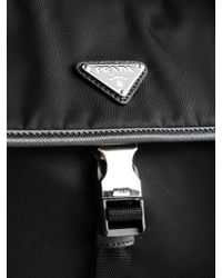 Prada - Black Crossbody Tessuto Montagna for Men - Lyst