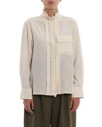 Chloé Multicolor Shirt Crepe De Chine