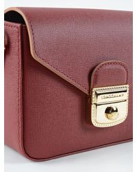 Longchamp - Red Le Pliage Heritage Xbody Xs - Lyst