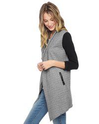 Splendid - Gray Outerwear Jacket - Lyst