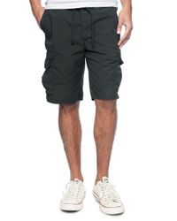 Splendid | Gray Woven Cargo Short for Men | Lyst