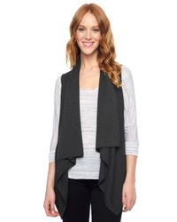 Splendid | Black Sullivan Sweater Vest | Lyst